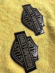 Harley Tank Badges