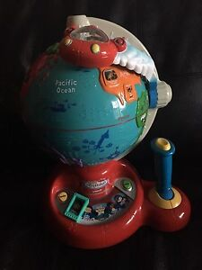 vetch learn & Discover Globe. AVAILABLE