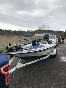 "REDUCED Skeeter SS140 Dual Console Bass Boat (18'6"")"