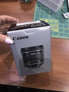 Canon 10 - 18 mm wide lens