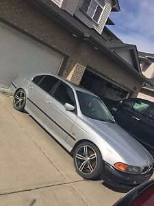 1999 BMW 540i in mint condition and low kilometres!