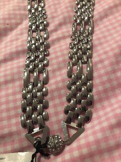 Mimco silver necklace