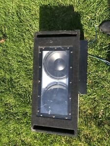 "10"" speakers with box and 800watt amp"