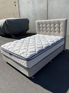 SOLD- New double ensemble bed with wheat base & headboard Carlisle Victoria Park Area Preview