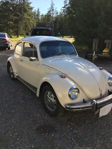 1968 All original VW Beetle, right hand drive