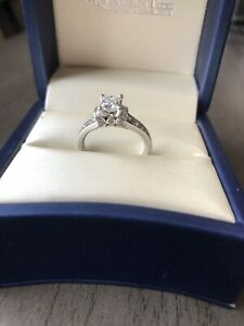 14k WG engagement ring
