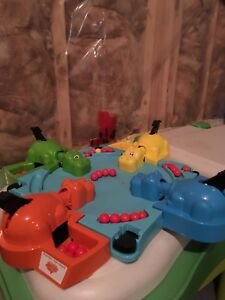 Hungry hungry hippo's game toy