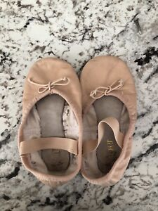 Leather Bloch ballet slippers- toddler size 8.5