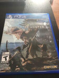 Monster Hunter Worlds (PS4)