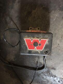 Warn winch box with solanoids