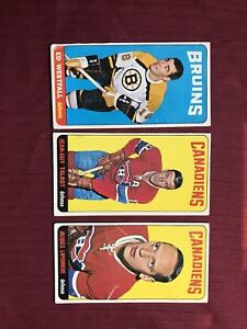 1964-65 TOPPS SERIES 1. PARTIAL SET WITH SP'S