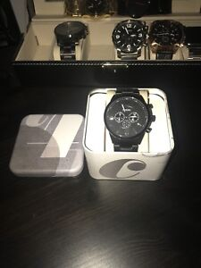*BRAND NEW* All black Mens Fossil Watch