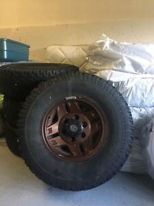 Toyota 4Runner Tired and Rims