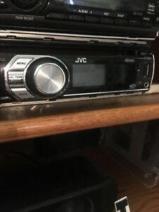 Jvc car deck like new with remote and papers