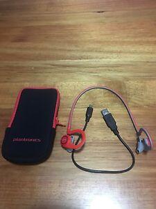 Plantronics backbeat fit wireless headphone Ashfield Ashfield Area Preview
