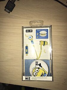 despicable me minions headphones($10 Each) Valley View Salisbury Area Preview