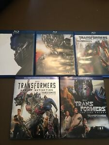 Transformers Movie Collection (Blu-rays)