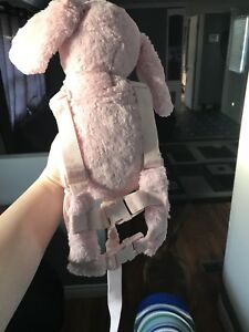 Pink bunny child harness