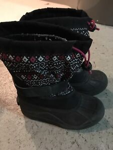 Girls Columbia Winter Boots - Size 2