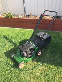 Lawn mower Victa 2 stroke less trade in your old mower