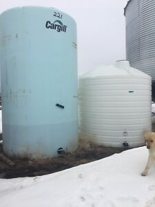 Two liquid fertilizer tanks for sale