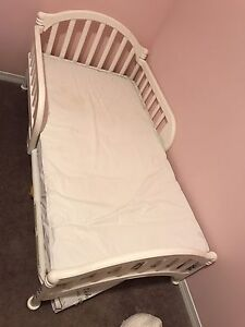 Toddler bed with mattress $100.  Pick up AIRDRIE