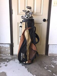 Right Handed Clubs with Bag
