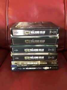 The Walking Dead Steelbook Blu-ray Collection