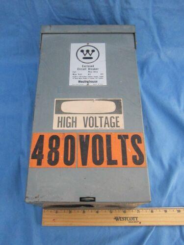 Westinghouse Rfb Circuit Breaker Enclosure Only 100 Amp 600 Volt Nema 3r