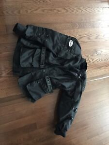 Armour padded motorcycle jacket