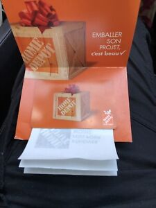 GIFT CARD OF HOME DEPOT $500
