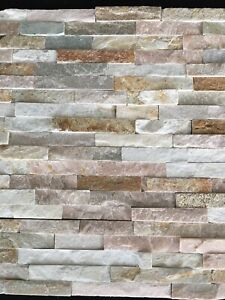 Sand stone look stackstone, wall cladding 600x150mm