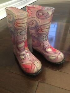 Kamik Toddler Girls Rain boots - Size 6
