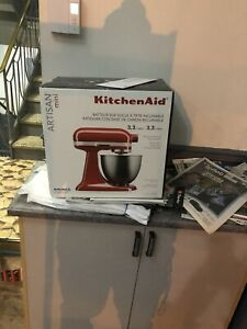 Mini artisan kitchenaid