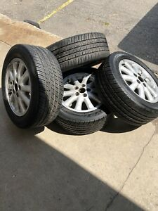4 TOYOTA RIMS AND TIRES  225/55R16