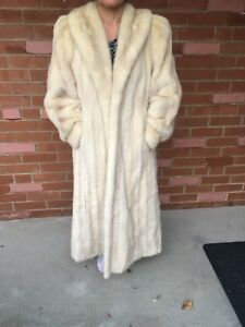 Real Baby mink lined fur coat