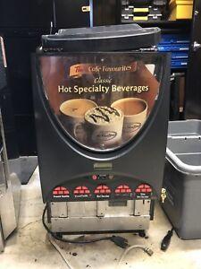 French Vanilla and hot chocolate machine