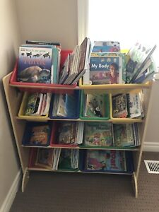 Kids Wood toy/book shelf