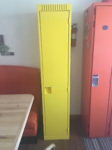 Casier d'école  vestiaire jaune