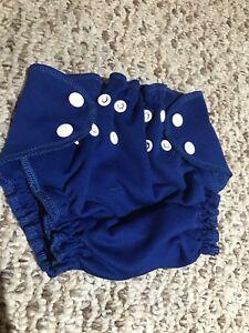 Blue Swim Diaper - size Large