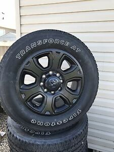 Factory Dodge 1 ton tires. 285/60R20