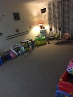 Flexible and affordable childcare available
