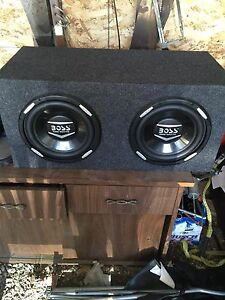 Boss 2300 watt subs