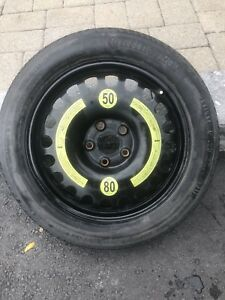 Mercedes Benz continental spare tire 17inch
