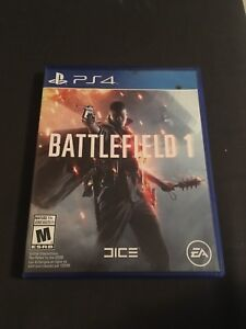 BATTLEFIELD 1-  PS4 perfect condition