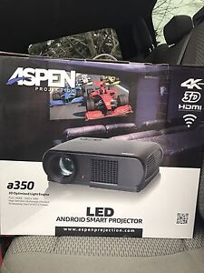 Aspen a350 3D Led projector sealed brand new