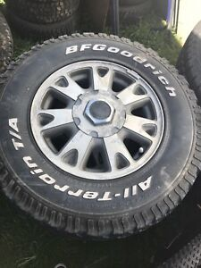 Rims and tires for jimmy/s10