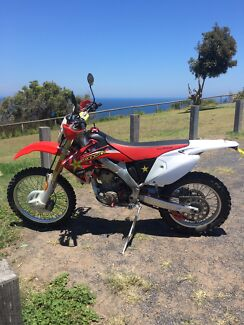 CRF250X Bateau Bay Wyong Area Preview