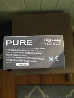 PURE in car FM and DAB Transmitter