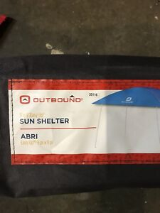 9x9 easy up sun tent $60